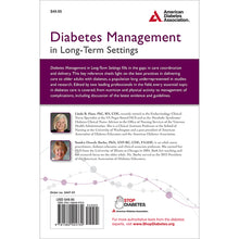 Load image into Gallery viewer, Diabetes Management in Long-Term Settings