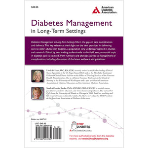 Diabetes Management in Long-Term Settings