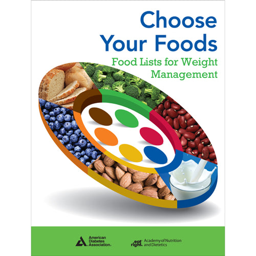 Choose Your Foods: Food Lists for Weight Management (Single)