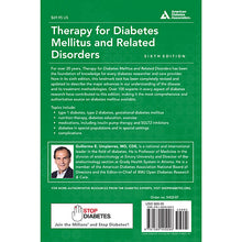 Load image into Gallery viewer, Therapy for Diabetes Mellitus and Related Disorders, 7th Edition
