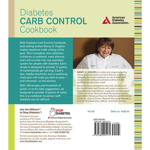 Diabetes Carb Control Cookbook