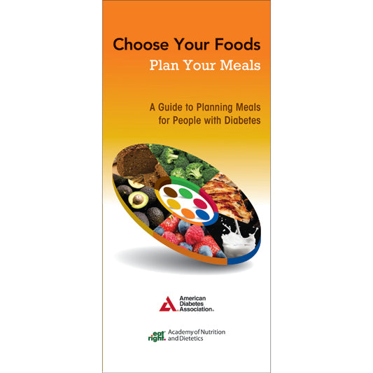 Choose Your Foods: Plan Your Meals, 2nd Edition (25/Pkg)