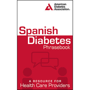 Spanish Diabetes Phrasebook