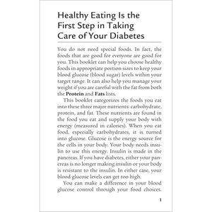 The Official Pocket Guide to Diabetic Food Choices, 4th Edition