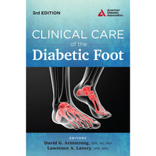 Load image into Gallery viewer, Clinical Care of the Diabetic Foot, 3rd Edition