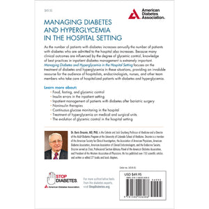 Managing Diabetes and Hyperglycemia in the Hospital Setting