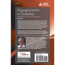 Load image into Gallery viewer, Hypoglycemia in Diabetes, 3rd Edition