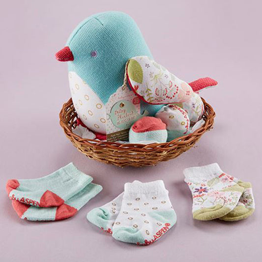 Gift of Hope: Cozy Baby Bird and Sock Set