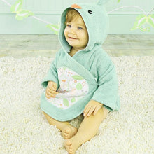 Load image into Gallery viewer, Gift of Hope: Sweet Tweet Hooded Baby Spa Robe