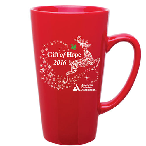 Gift of Hope: Reindeer Latte Mug