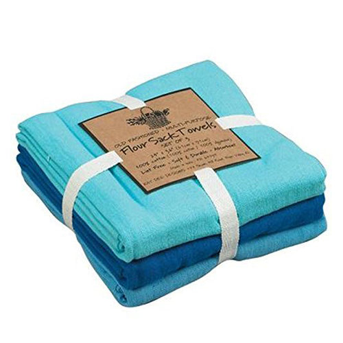 Gift of Hope: Coastal Blue Flour Sack Towels