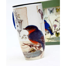 Load image into Gallery viewer, Gift of Hope: Wild Bluebird Travel Mug