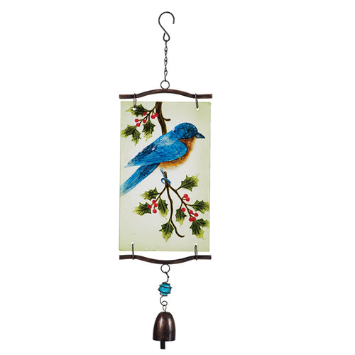 Gift of Hope: Bluebird of Happiness Wind Chime