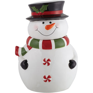Gift of Hope: Jolly Snowman Cookie Jar
