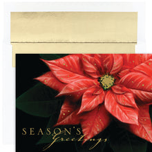 Load image into Gallery viewer, Gift of Hope: Rich Poinsettia Cards (20/Box)