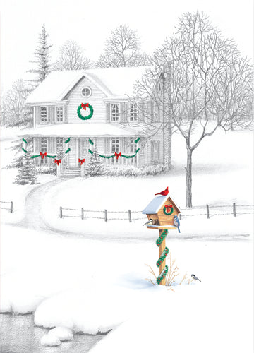 Gift of Hope: Home for the Holidays Cards (20/Box)