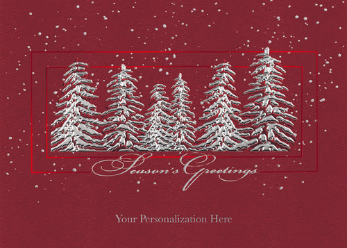 Gift of Hope: Silver Trees Cards (20/Box)