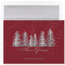 Load image into Gallery viewer, Gift of Hope: Silver Trees Cards (20/Box)