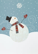 Load image into Gallery viewer, Gift of Hope: Jolly Snowman Cards (20/Box)