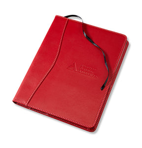 Red Textured Journal with ADA Logo