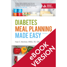 Load image into Gallery viewer, Diabetes Meal Planning Made Easy, 5th Edition