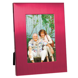 "4"" X 6"" Acrylic Window Picture Frame, Red"