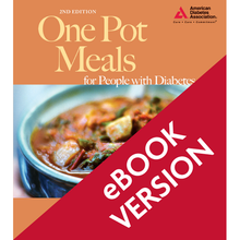 Load image into Gallery viewer, One Pot Meals for People with Diabetes, 2nd Edition