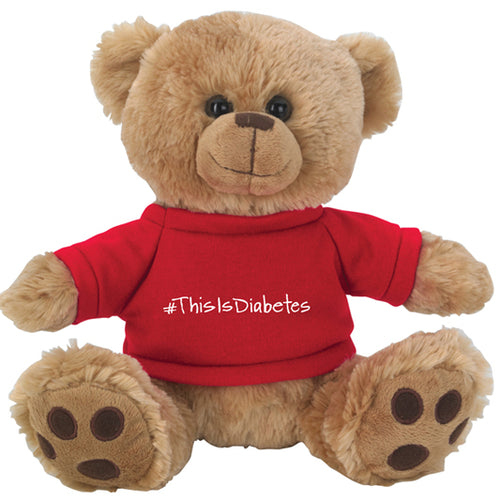 #ThisIsDiabetes Plush Teddy Bear