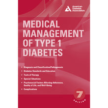 Load image into Gallery viewer, Medical Management of Type 1 Diabetes, 7th Edition