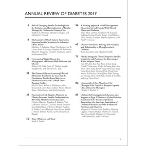 Annual Review of Diabetes 2017
