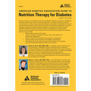 American Diabetes Association Guide to Nutrition Therapy for Diabetes, 3rd Edition