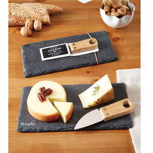 Slate Cheese Board and Chalk