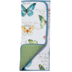 Butterfly Garden Drying Mat