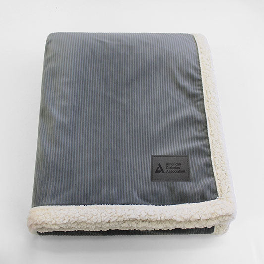 American Diabetes Association Plush Corduroy Blanket