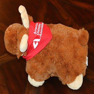 American Diabetes Association Moose Pillow Pal Cushion