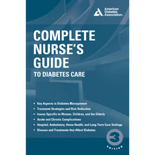 Load image into Gallery viewer, Complete Nurse's Guide to Diabetes Care, 3rd Edition