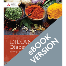Load image into Gallery viewer, Indian Cuisine Diabetes Cookbook
