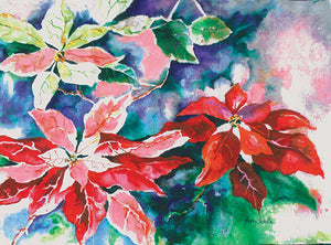 Poinsettias in Bloom Cards (20/Box)
