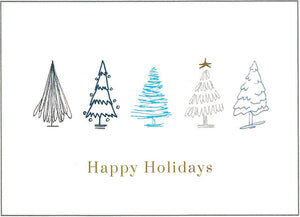 Holiday Forest Cards (20/Box)