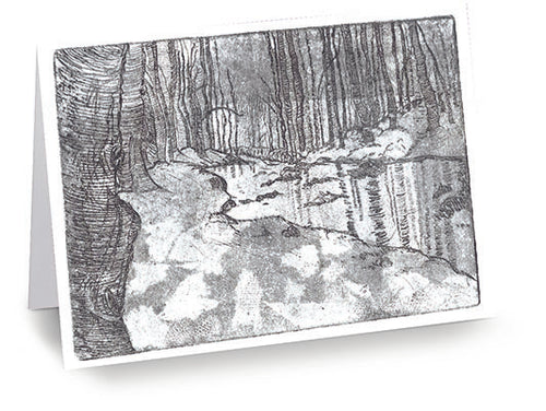 Winter Woods Cards (20/Box)