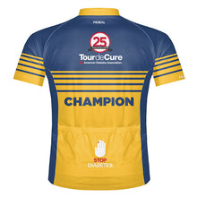 Load image into Gallery viewer, Tour de Cure Champion Jersey, 2016, Mens