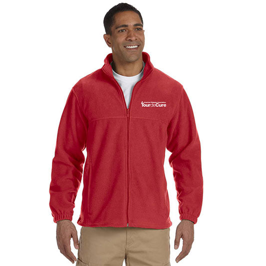 Tour de Cure Fleece Jacket, Mens