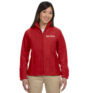 Tour de Cure Fleece Jacket, Ladies