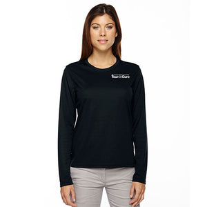 Tour de Cure Long-Sleeved Shirt, Black, Ladies