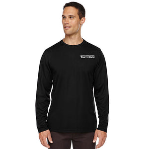 Tour de Cure Long-Sleeved Shirt, Black, Mens