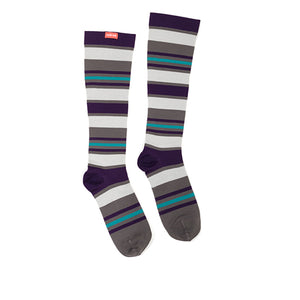 Women's Fun Stripes Compression Socks by VIM & VIGR