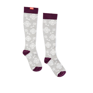 Women's Queens Floral Compression Socks by VIM & VIGR