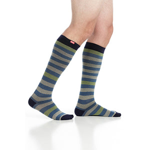 Men's Thick Stripes Compression Socks by VIM & VIGR