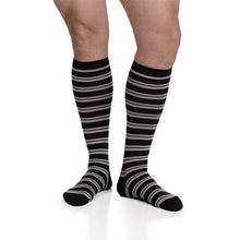 Load image into Gallery viewer, Men's Thin Stripes Compression Socks by VIM & VIGR