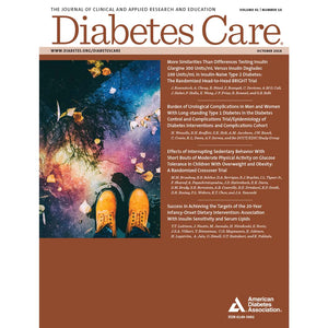 Diabetes Care, Volume 41, Issue 10, October 2018